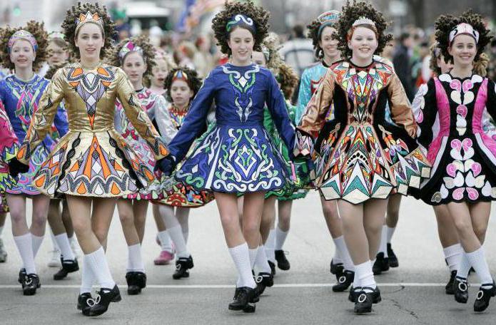 baile irlandes origen shuffle